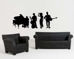 Group of Musicians Sticker