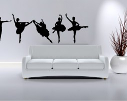 Ballerinas Dancing Sticker