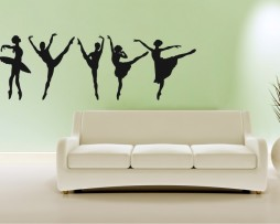 Ballerinas Dancing #2 Sticker