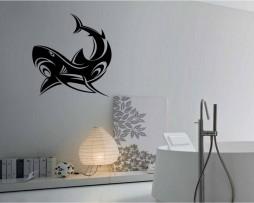 Ornate Shark Design #2 Sticker