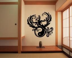 Ying Yang Phoenix #2 Sticker