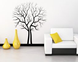 Empty Trees Contour Sticker