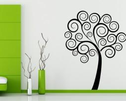 Tree Spirals Sticker