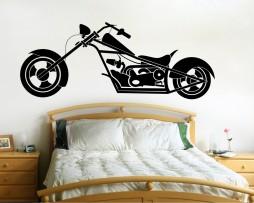 Motorcycle Chopper Sticker