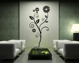 Geometric Flower Design #2 Sticker