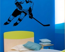 Hockey Player Sticker