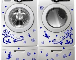 Washing Machine Vinyl Sticker #1