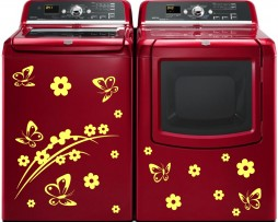Washing Machine Vinyl Sticker #2