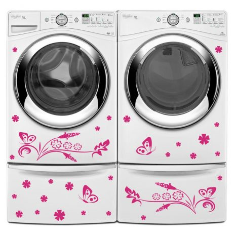 Washing Machine Vinyl Sticker #7
