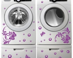 Washing Machine Vinyl Sticker #10