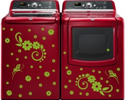 Washing Machine Vinyl Sticker #11