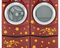 Washing Machine Vinyl Sticker #12