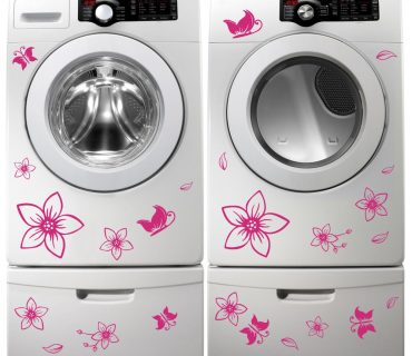 Washing Machine Vinyl Sticker #13