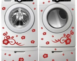 Washing Machine Vinyl Sticker #16