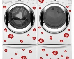 Washing Machine Vinyl Sticker #17