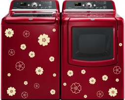 Washing Machine Vinyl Sticker #18