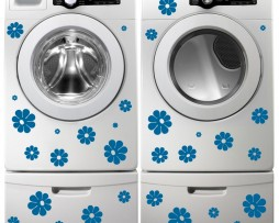 Washing Machine Vinyl Sticker #19