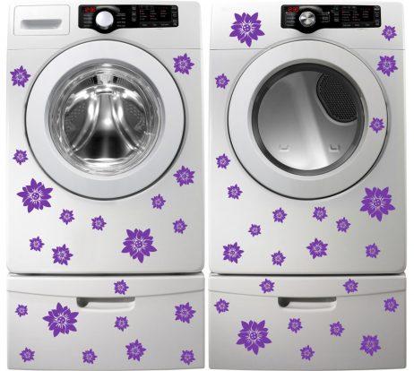 Washing Machine Vinyl Sticker #22
