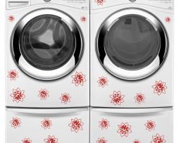Washing Machine Vinyl Sticker #23