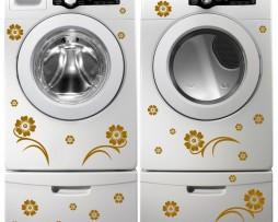 Washing Machine Vinyl Sticker #28