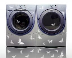 Washing Machine Vinyl Sticker #29