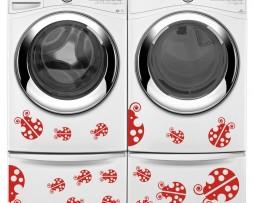 Washing Machine Vinyl Sticker #31