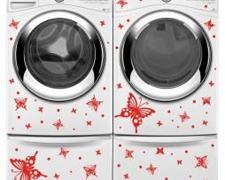 Washing Machine Vinyl Sticker #36
