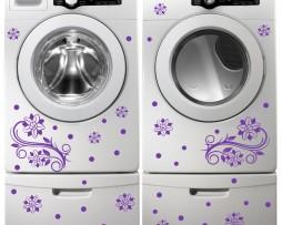 Washing Machine Vinyl Sticker #40