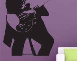 Blues Musician Sticker