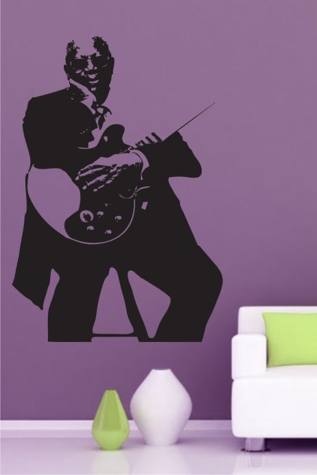 Blues Musician Sticker