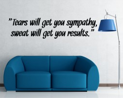 Sweat Will Get You Results Sticker