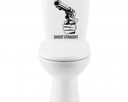 Shoot Straight #1 Sticker