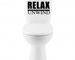 Relax, Unwind #2 Sticker