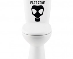 Fart Zone Sticker