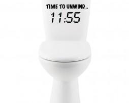 Time to Unwind #2 Sticker