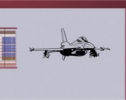 Fighter Jet Sticker