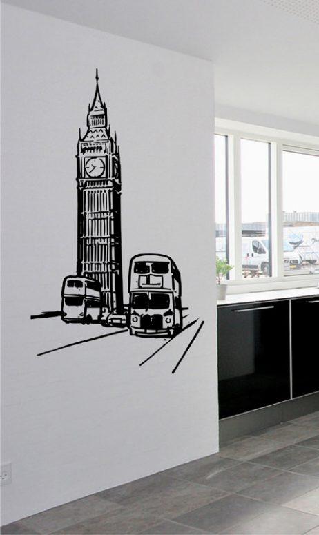 London Big Ben Sticker