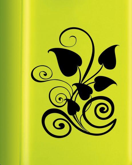 Leaves Motif Sticker
