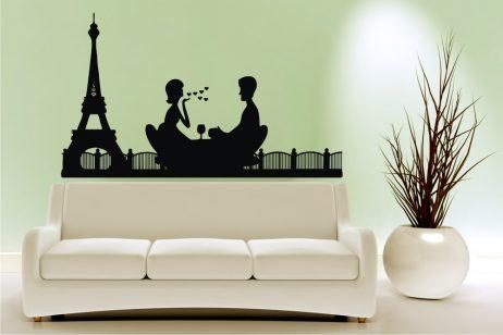 Romantic Paris Sticker