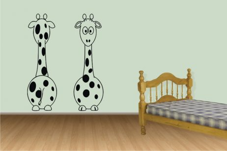 Cartoon Giraffe Sticker