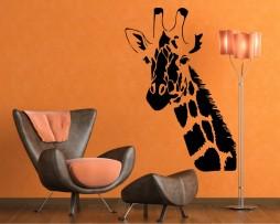 Giraffe Head Sticker