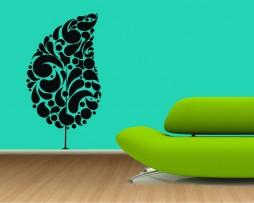 Modern Tree Sticker