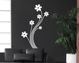 Floral Decor #4 Sticker