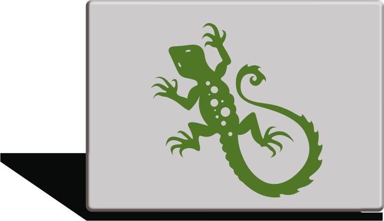 Lizard Sticker  sc 1 st  StickONmania.com & StickONmania.com | Vinyl Wall Decals | Lizard Sticker