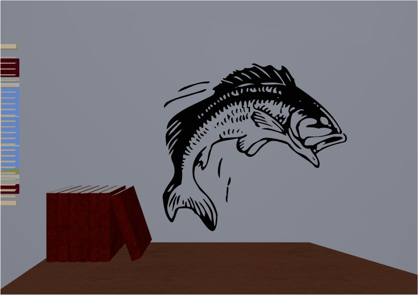 Vinyl Wall Decals Fish Sticker